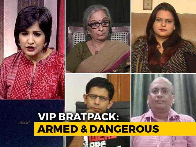 Video : Armed And Dangerous: No End To VIP Culture?