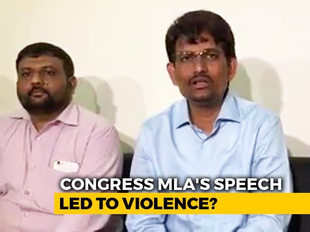Video : In Gujarat's Attack Against Migrants, Allegations Of Congress Link