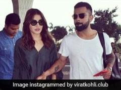 विराट कोहली पत्नी अनुष्का शर्मा के साथ निकले हैदराबाद, एयरपोर्ट पर दिखा Sizzling अवतार