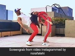 'बाहुबली' की एक्ट्रेस ने विदेशी धुन पर किया बिदांस डांस, Video देख मुंह से निकलेगा- झकास...