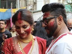 Here's Raj-Shubhasree's First Puja After Marriage