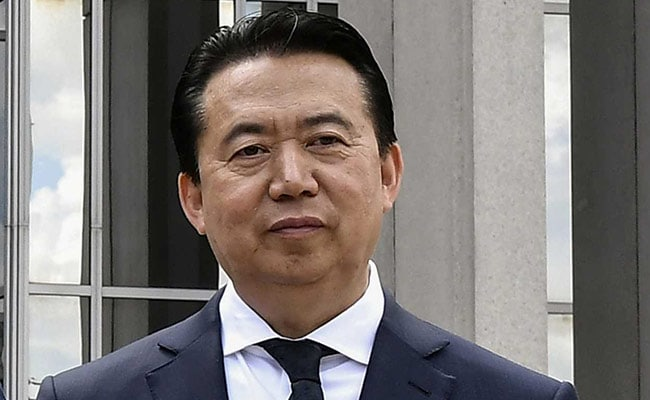 Wife Of Missing Chinese Interpol Chief Urges Macron To Raise Case With Xi