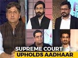 Video : The Big Fight: The Aadhaar Verdict - Who Won?