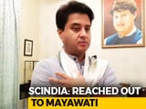 Video: Jyotiraditya Scindia On Congress-BSP Break-Up
