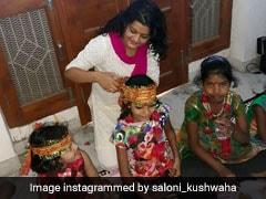 Kanya Pujan 2018: नवमीं के दिन कन्या पूजन के लिए हैं दो शुभ मुहूर्त, जानिए कंजक करने का सही तरीका भी
