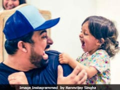 This Pic Of Rannvijay Singha And Daughter Kainaat Is 'Cuteness Overloaded'