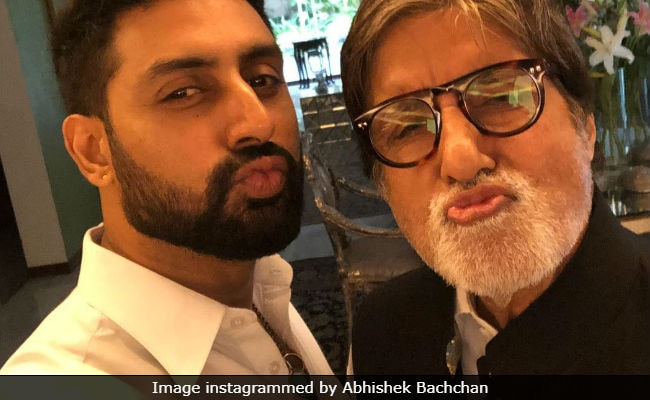 Bachchan Vs Bachchan Photo Battle: After Amitabh Bachchan's 'Sauce' Pic, Abhishek's 'Payback'
