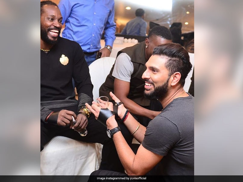 Yuvraj Singh Pokes Fun At Chris Gayle, Compares Him To Movie Character