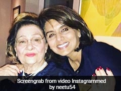 Neetu Kapoor's Heartfelt Tribute For Mother-In-Law Krishna Raj Kapoor: 'You Will Always Stay In My Heart'
