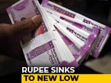 Video: Rupee Sinks To New Low Of 74.45 Against US Dollar