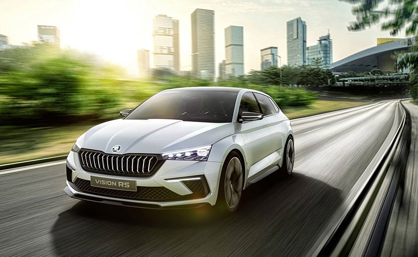 Skoda Vision Rs Concept Hybrid Hot Hatch Revealed