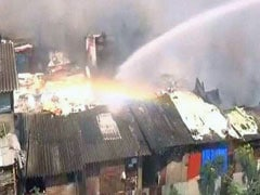 Fire Breaks Out In Slums In Mumbai, 25 Fire Engines On Spot