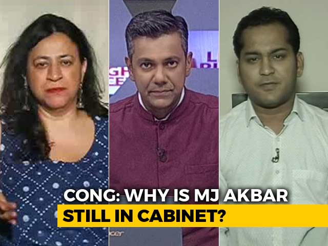 Video : #MeToo: Why Was MJ Akbar Not Asked To Go?