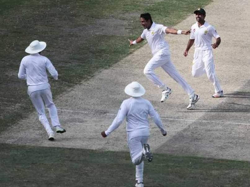 1st Test: Mohammad Abbas