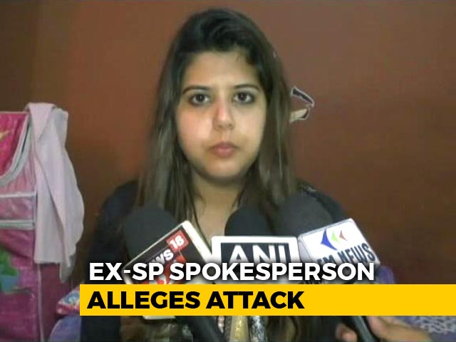 Video : Ex-Samajwadi Party Spokesperson Alleges Attack By Bajrang Dal Members