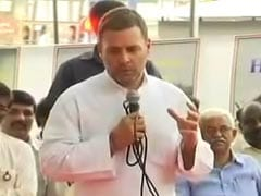 """Rafale Contract Is Your Right"": Rahul Gandhi To State-Run HAL Employees"
