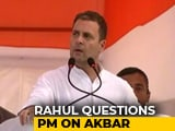 "Video : ""Save Daughters From BJP Minister"": Rahul Gandhi On Sex Harassment Cases"