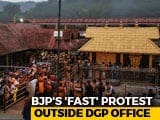 "Video : BJP To Observe 1-Day Fast ""To Support Sabarimala Devotees"""