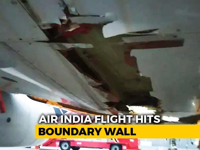 Video : Air India Plane Slammed Into Wall At 250 Km Per Hour But Continued To Fly
