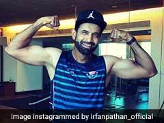 Irfan Pathan's Son Helps Him Work Out In Gym. Watch Video