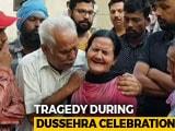 Video : My Son Left To See Ravan Effigy Burn, Didn't Return Home: Amritsar Woman
