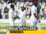 India Outclass Windies In 2nd Test To Clean Sweep 2-Match Series