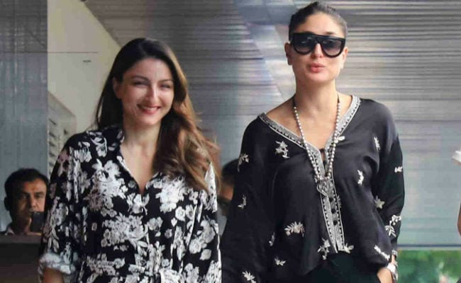 Pics From Kareena Kapoor's Lunch Date With Soha Ali Khan And Friends