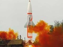 परमाणु शस्त्र ले जाने में सक्षम पृथ्वी-2 मिसाइल का रात में परीक्षण सफल
