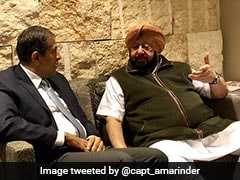 """Satisfied With Steps After Train Tragedy,"" Amarinder Singh Now In Israel"