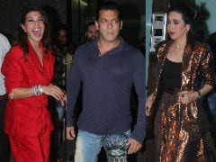 About Last Night: Salman Khan, Karisma Kapoor And Other Stars Make Aayush Sharma's Birthday A Night To Remember