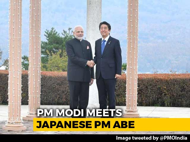 Video : PM Modi Meets Japan's Shinzo Abe, Regional Security On Agenda In Talks