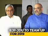 Video : 50-50 On Bihar Seats, Announce Nitish Kumar And Amit Shah For 2019