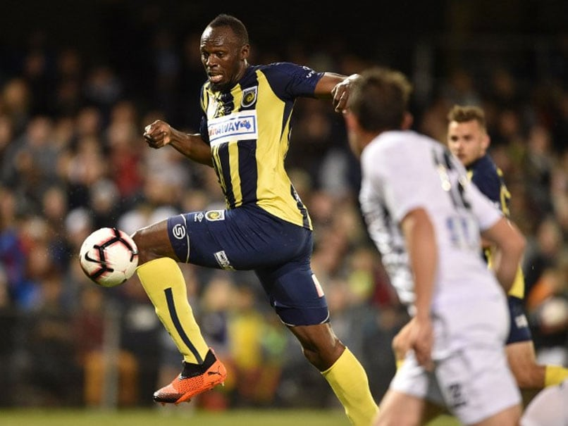 "A-League Striker Blasts Usain Bolt, Says Jamaican Has ""Touch Like A Trampoline"""