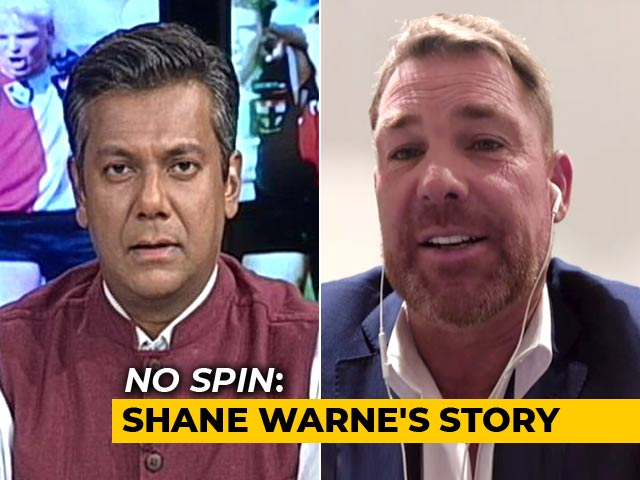 Video : Exclusive: Shane Warne On Sachin vs Lara, Bookies And Failed Relationships