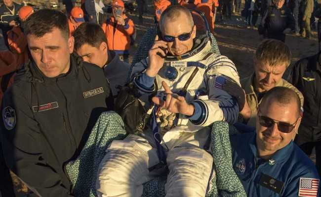 NASA Astronauts Return To Earth Amid US-Russia Space Tensions
