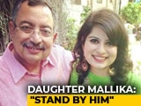 "Video : ""Not My Battle..."": Mallika Dua On #MeToo Claim Against Father Vinod Dua"