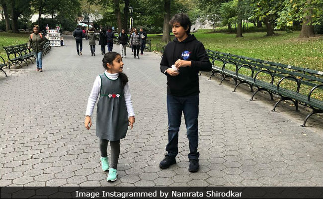 More Pics From Namrata Shirodkar S New York Vacation Album