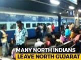 Video : Workers From UP, Bihar Leave North Gujarat After Protests Over Rape