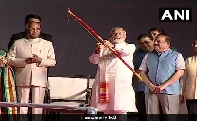 Dussehra 2018 : दिल्ली के लव-कुश रामलीला में शामिल हुए प्रेसिडेंट कोविंद और PM मोदी, लोगों को दी यह सीख, देखें वीडियो