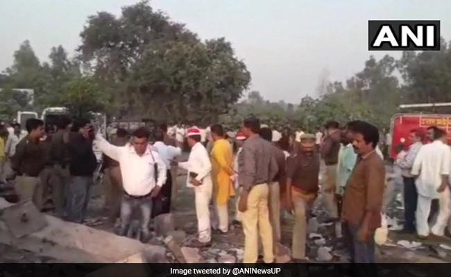 8 Killed In Explosion At Firecracker Factory In Uttar Pradesh's Badaun