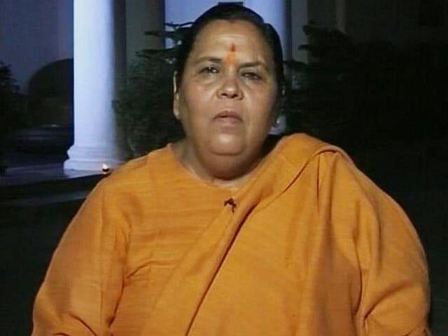Video : <i>Gandagi Se Nafrat Aur Desh Se Pyar</i>: Uma Bharti