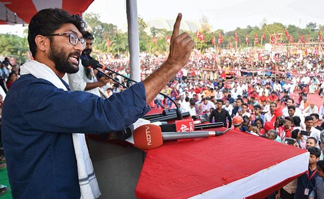 Jignesh Mevani College Event Cancelled After Protest; Principal Quits