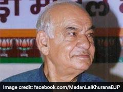 दिल्ली के पूर्व मुख्यमंत्री मदनलाल खुराना का निधन, लंबे समय से थे बीमार