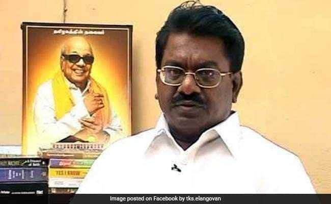 DMK Lawmaker TKS Elangovan Relieved Of Post Of Secretary
