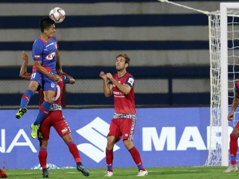 ISL 2018: Sunil Chhetri Strikes As Bengaluru FC Hold Jamshedpur FC 2-2