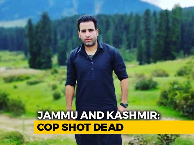 Video : Cop Shot Dead by Suspected Terrorists In South Kashmir