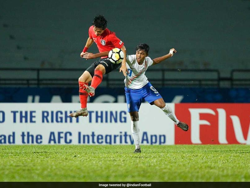 AFC U-16: Valiant India Go Down To South Korea In Quarterfinals