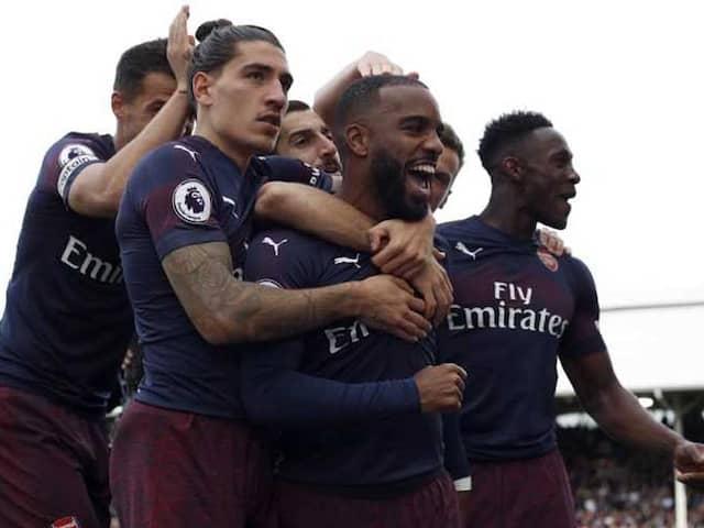 Premier League: Alexandre Lacazette, Aaron Ramsey Star As Rampant Arsenal Make It Nine In A Row
