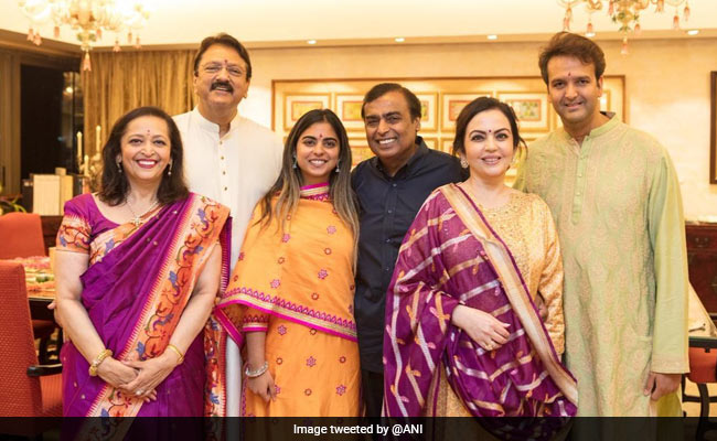 Mukesh Ambani's Daughter Isha Ambani To Marry Anand Piramal On December 12