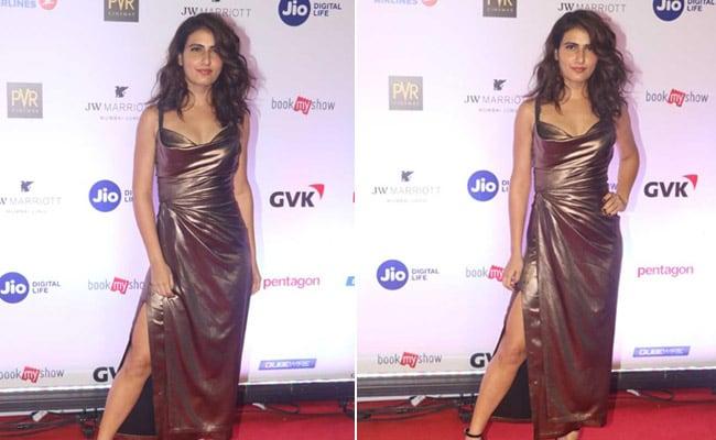 4 Matte Gold Dresses Like Fatima Sana Shaikh